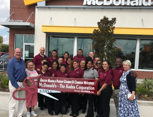 McDonald's Ribbon Cutting