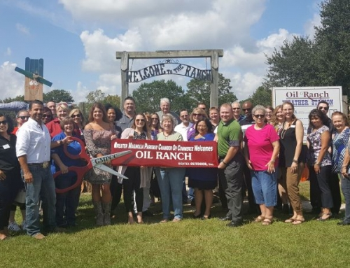 Oil Ranch Ribbon Cutting